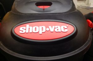 use a shop vac without a filter