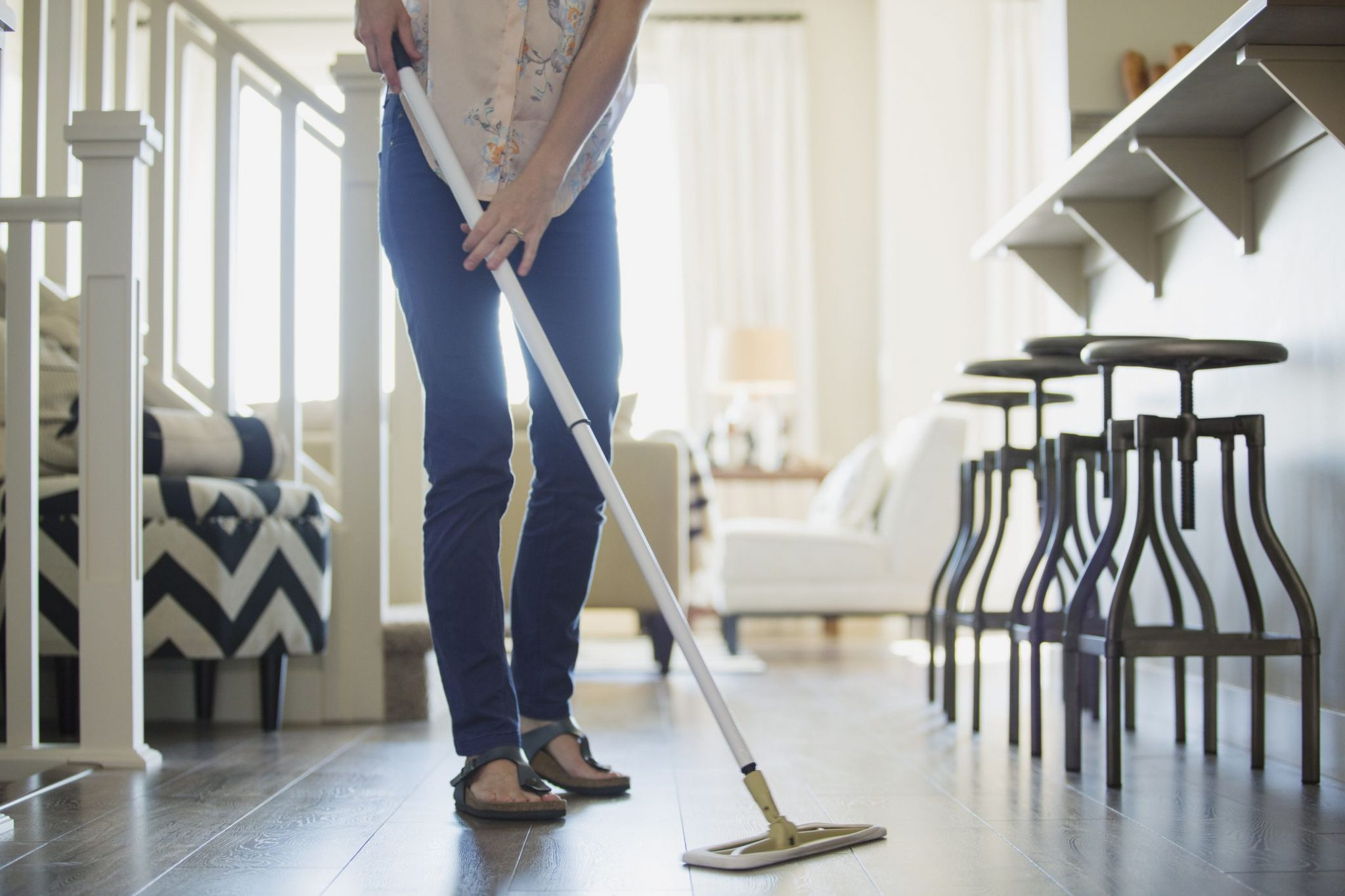 Old Fashioned Dust Mops